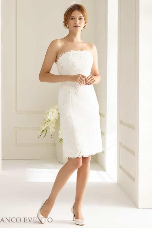 kurzes Brautkleid Bianco Evento Magnolia